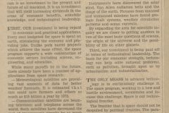 Figure Page 70--An editorial supporting space exploration written by the author was published October 23, 1968 in the Michigan Daily.