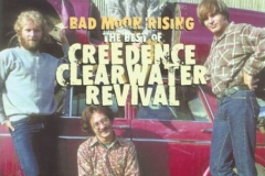 "Figure Page 93-- The number one hit in June, 1969, was ""Bad Moon Rising"" by Credence Clearwater Revival.  The band would later play Woodstock in August."