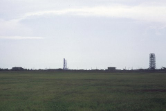 Figure Page 135-- The Apollo 11 Saturn V at the moment of ignition on July 16, 1969. This picture was taken by the author from the VIP Site 3 ½ miles away from Pad 39A at the Kennedy Space Center.